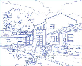 Drawing of Saintfield Health Centre